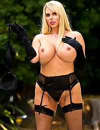 Incredibly Busty Milf Karen Flaunts All