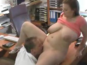 Chubby amateur with big ass fucked hard