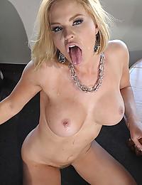 Busty Krissy Rides Throbbing Cock