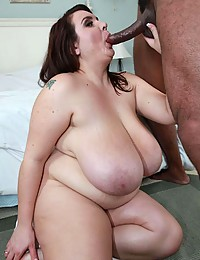 BBW Loves Monster Black Cocks