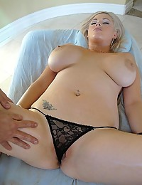 Sexy Blond Kathy Enjoys Fucking