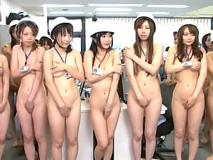 Naked Japanese Babes Fuck and Tease Eachother