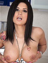 Eva Angelina Serves You Her Tits And Pussy