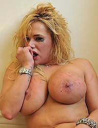 Busty Blonde Shyla Gets Handled Rough