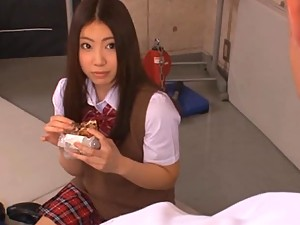 Hot Japanese Maho Ichikawa Wears Her Sexy Uniform And Gets Fucked