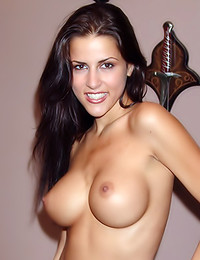 Total Super Cuties - Alluring big breasted wench teases with her magnificent rack