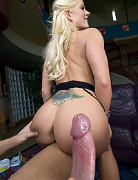 Hollys Butt Covered In Fresh Jizz