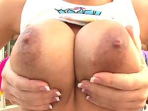 Hardcore Action With Nicole Aniston And Her Oiled Up Ass
