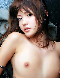 Nice hairy Japanese pussy