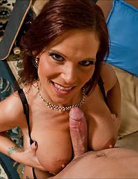 Horny big tits wife hardcore