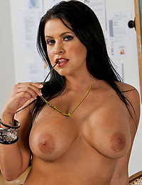 Teacher shows naked tits