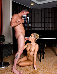 Horny Blonde Bounces On Hard Cock