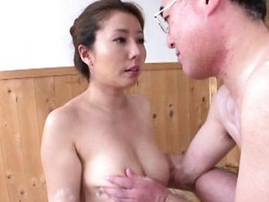 Sakiko Mihara gets fucked from behind in her tight mature pussy