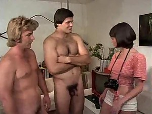 Horny retro hardcore with group sex