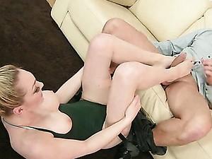Footsie Gymnastics
