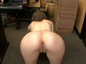 Kristine Andrews Swallows A Huge Load Of The Boss' Cum