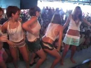 Spring break in cancun party