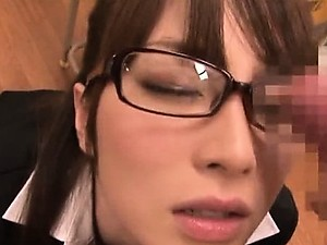POV Blowjob For a Sexy Asian Schoolgirl