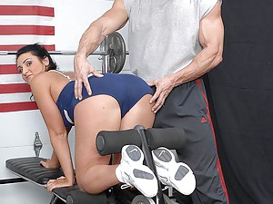 He works out and fucks a slut