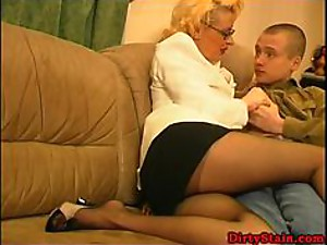 Mature Teacher Seduces Her Student