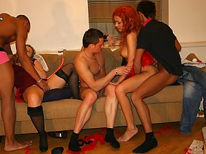 Students X-mas sex party