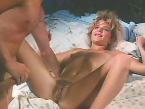 Welcome back to the 80th. Filthy blondie Ginger Lynn is waiting for in here with her legs spread wide apart. I guess you've already know how good this bitch fucks. If you don't, I really recommend you to take a flash at this cock-hungry blondie from the 8