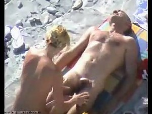 Fucked in the beach