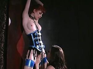 Redhead Hottie Justine Joli Submits to Femdom