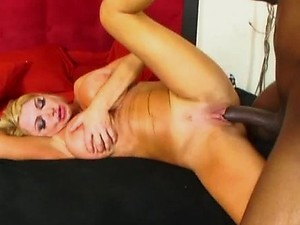 Taylor Wane in Interracial Sex Scene Covered in Jizz