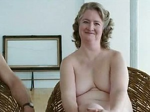 BBW Mature Blonde Marceline Hugot Shows It All In a 'Fur' Scene